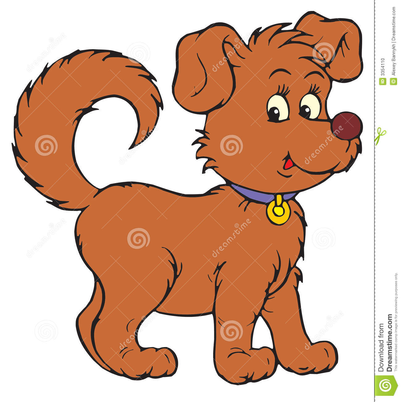 Dog (vector clip-art) Stock .-Dog (vector clip-art) Stock .-8