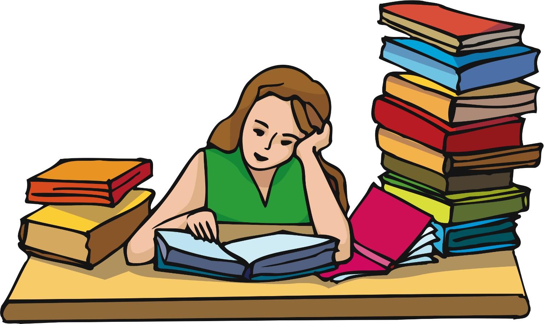 Doing Homework Clipart-Doing homework clipart-3