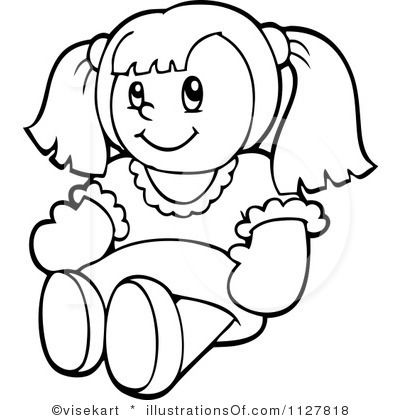 Doll Clip Art | Royalty-Free (RF) Doll C-doll clip art | Royalty-Free (RF) Doll Clipart Illustration by visekart --9