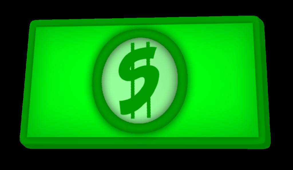 Dollar bill clip art by redflyninja on deviantart