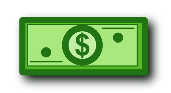 Dollar Bill Clip Art Dollar B - Clip Art Dollar