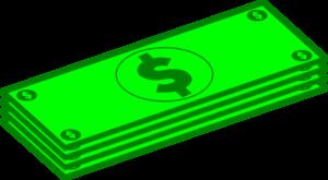 Dollar bill clipart hostted