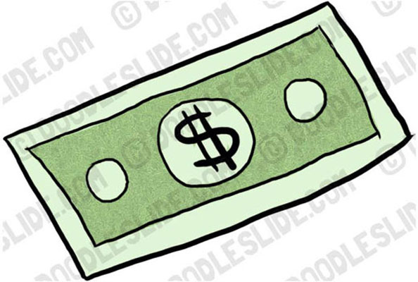 Dollar Bill Free Clipart Image Download Clip Art Powerpoint