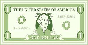 dollar - Clip Art Dollar Bill