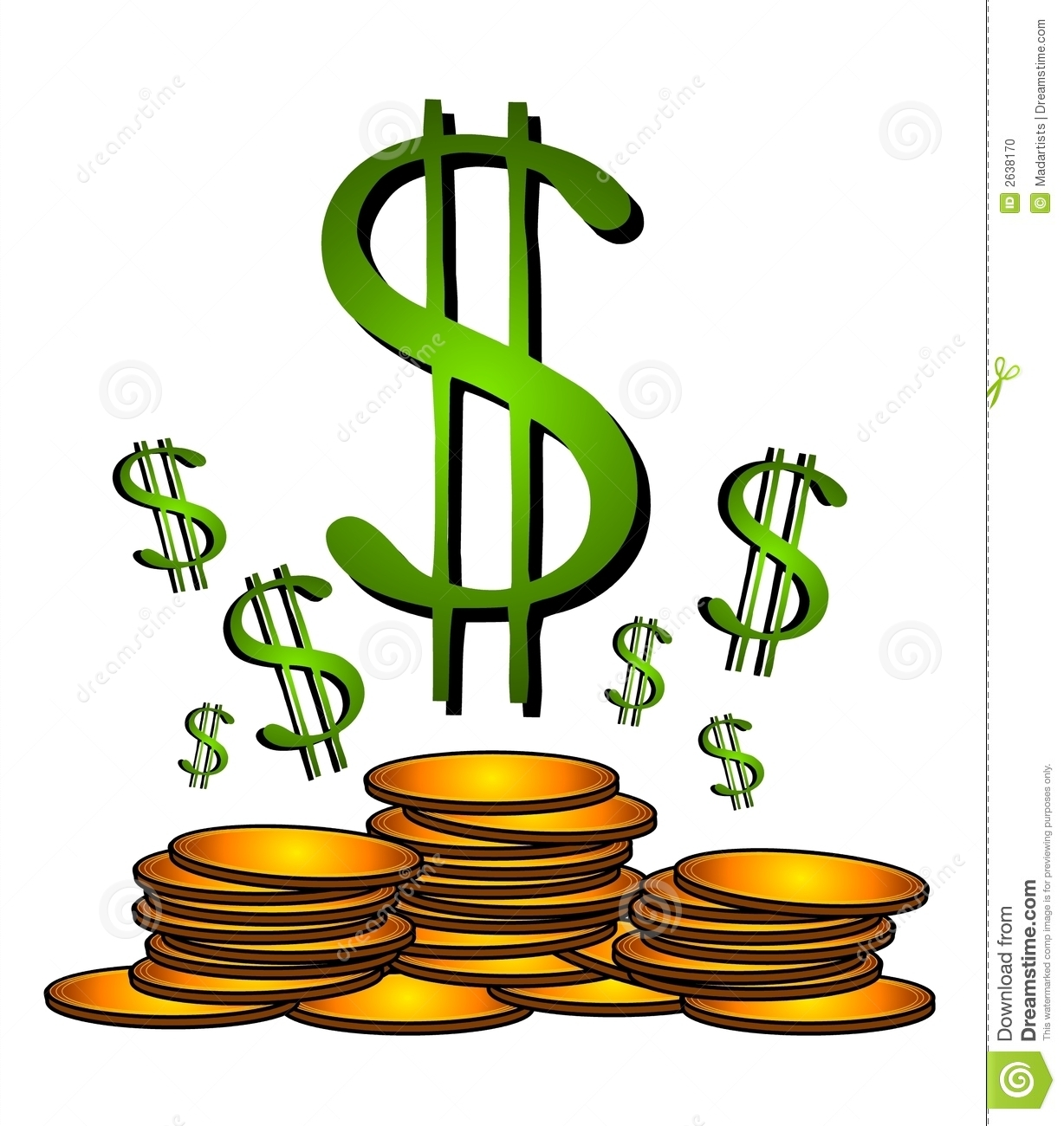 Dollar Clip Art. Money Sign .-Dollar Clip Art. Money Sign .-9