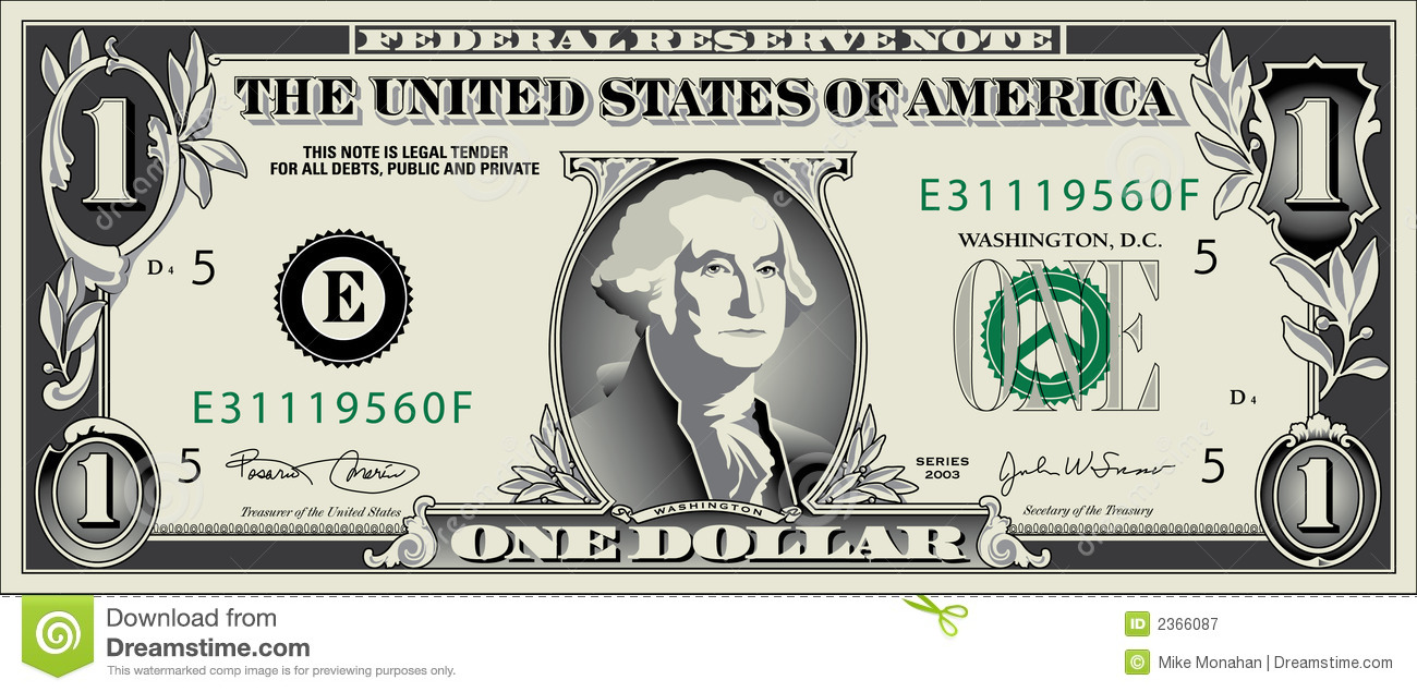 Dollar Jpg Royalty Free Stock Photography Image 2366087