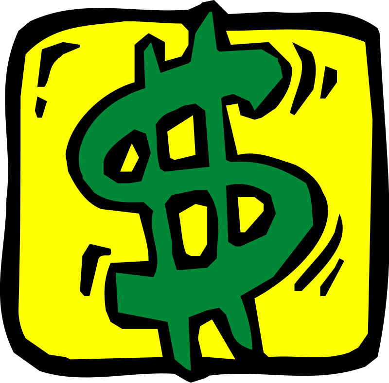 Dollar Sign Clip Art Free Notes Free Money Clipart