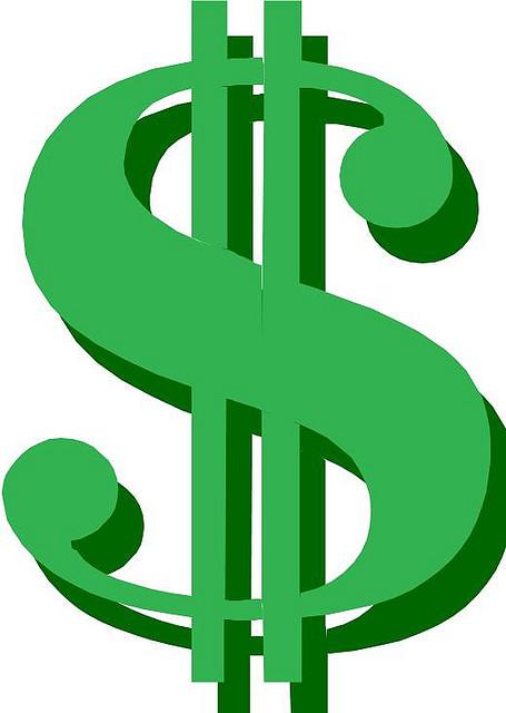 Dollar sign dollar clip art clipart image