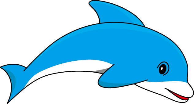 Dolphin Clip Art. Dolphin outline cliparts