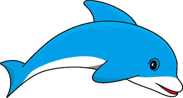 Dolphin Clip Art. Dolphin out - Dolphin Clip Art
