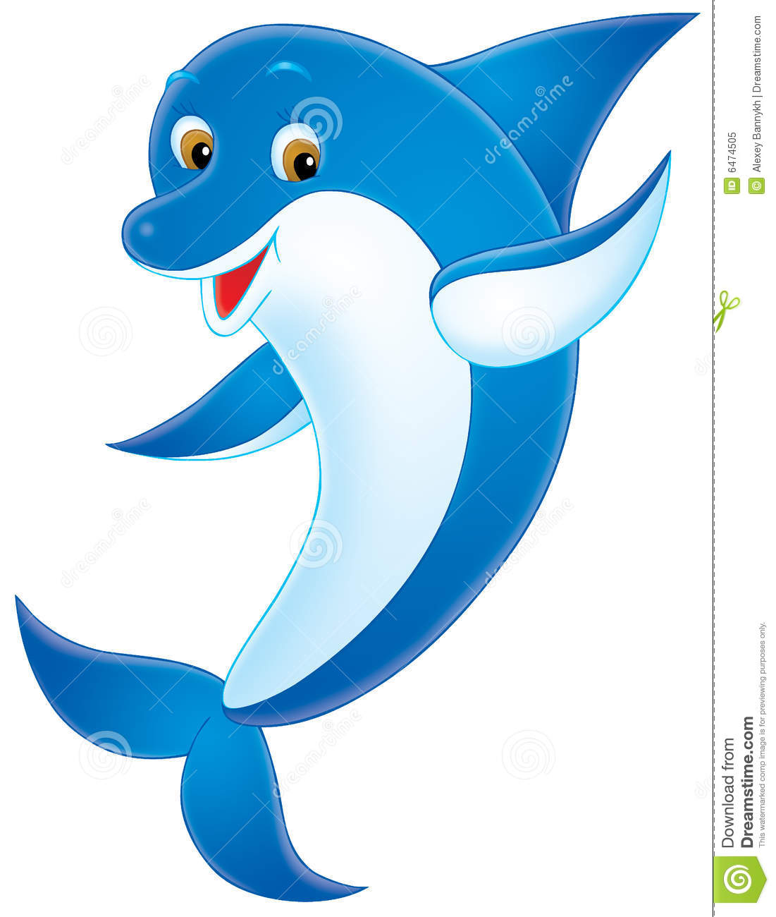 Dolphin Clipart 1130779 Illustration By Colematt