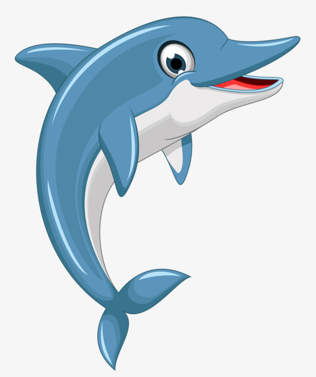 cartoon dolphin, Cartoon Clipart, Dolphin Clipart, Lovely PNG Image and  Clipart
