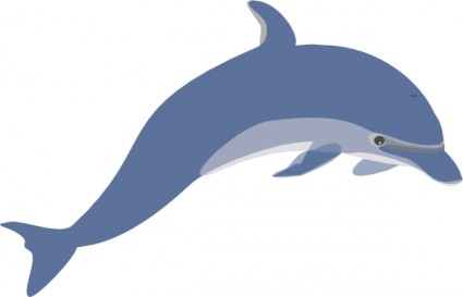 Dolphin clipart free clipart