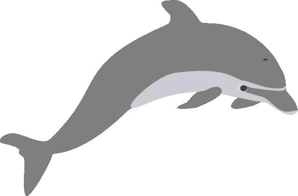 ... Dolphin Outline Grey Clip Art - Vect-... Dolphin Outline Grey clip art - vector clip art online, royalty .-15
