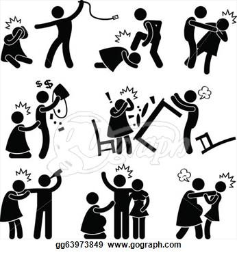 Domestic Violence Clip Art
