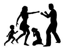 Domestic Violence Stock Vectors Illustrations Clipart
