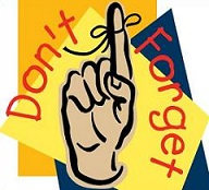 Donu0026#39;t Forget finger with string