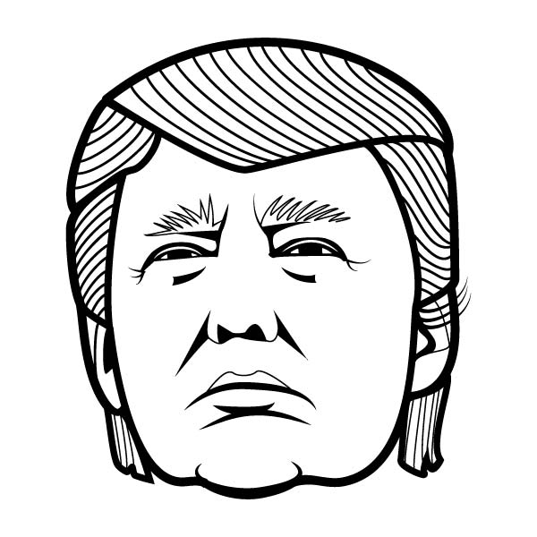 Donald Trump Clip Art Related .