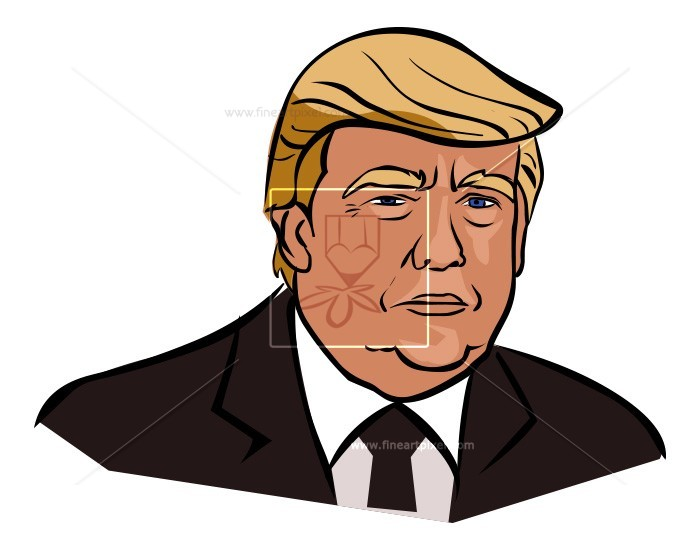 Donald Trump | Free vectors, illustrations, graphics, clipart, PNG  downloads | fineartpixel clipartlook.com
