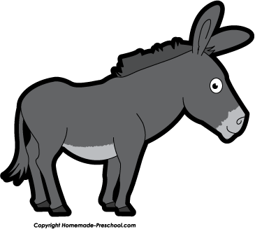 Donkey clipart free clipart images 4 image 2