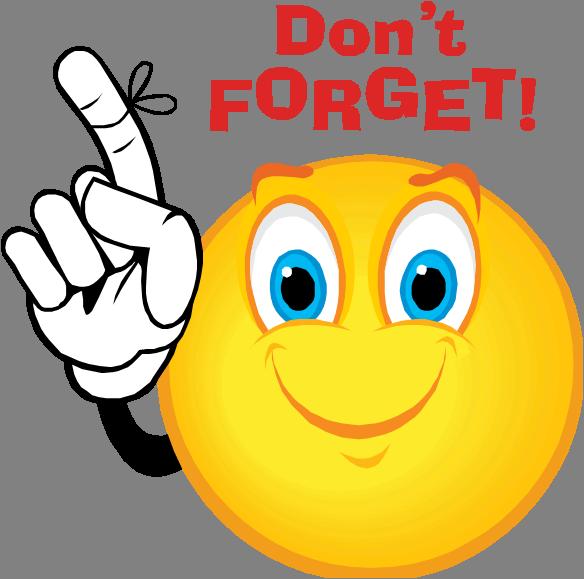 Dont Forget Smiley Free Images At Clker Com Vector Clip Art Online