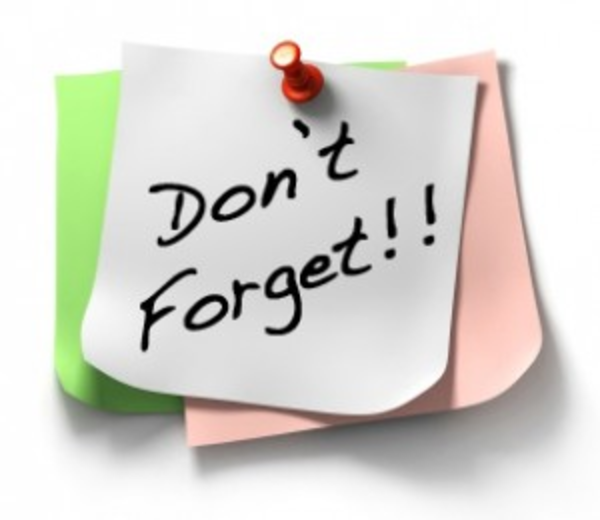 Dont Forget Sticky Note X Free Images At Clker Com Vector Clip Art