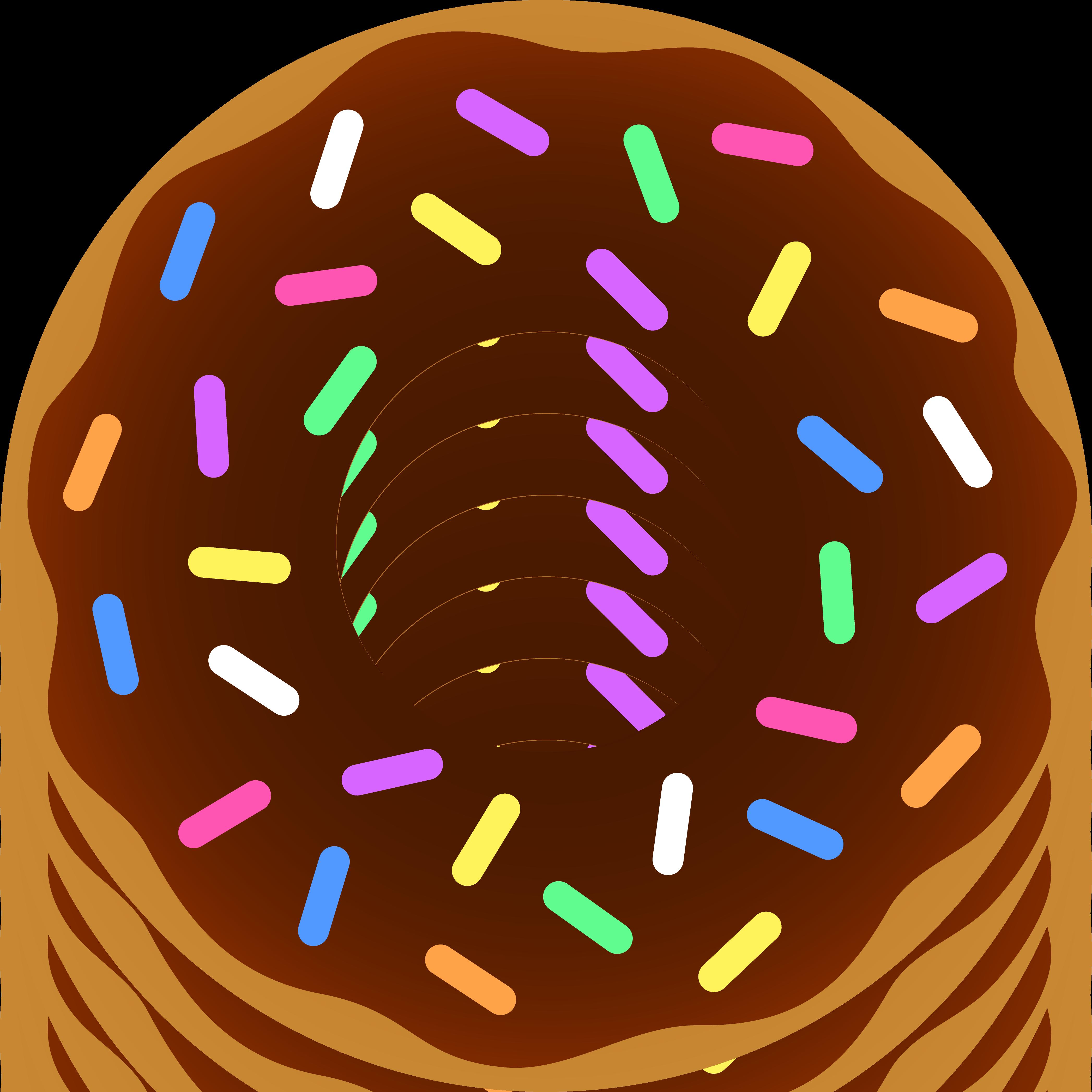 Donut Clip Art u0026amp; Donut Clip Art Clip Art Images - ClipartALL clipartall.com