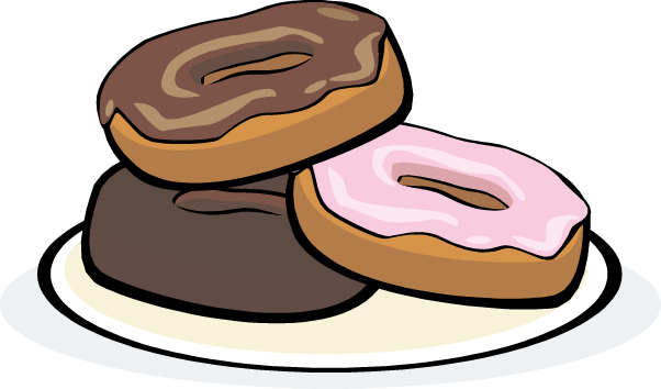 Donut Clip Art-Donut Clip Art-4