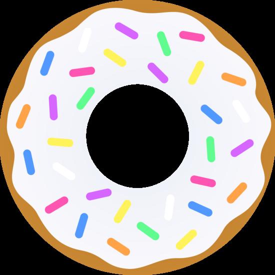 Donut Clip Art-Donut Clip Art-8
