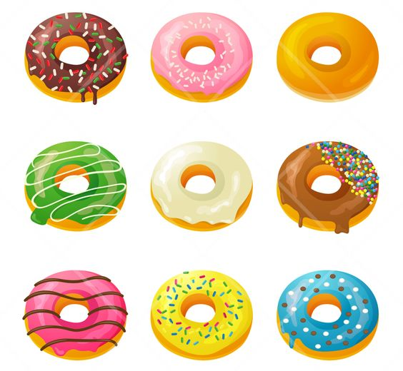 Donut clipart tumblr clipartf - Donut Clipart Free