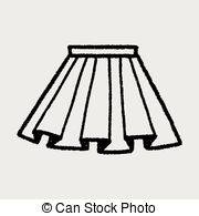 Doodle Pleated Skirt Clipartby Hchjjl0/4-doodle pleated skirt Clipartby hchjjl0/4; doodle pleated skirt-4