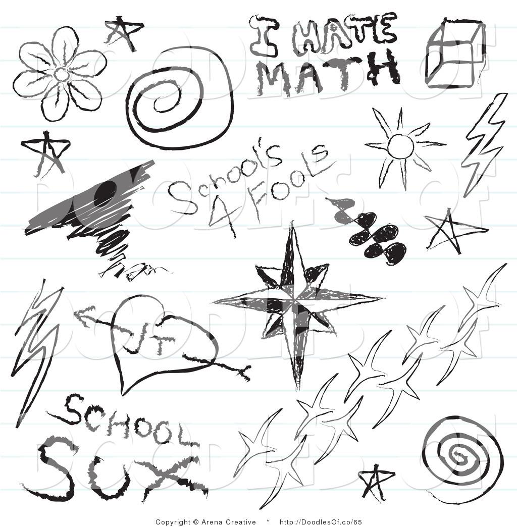 Doodles Clipart-Doodles clipart-9