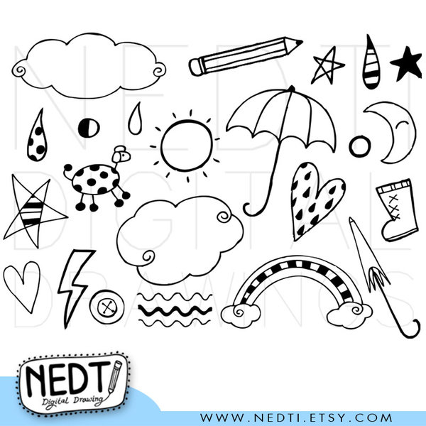 Doodles Clipart-Doodles clipart-12