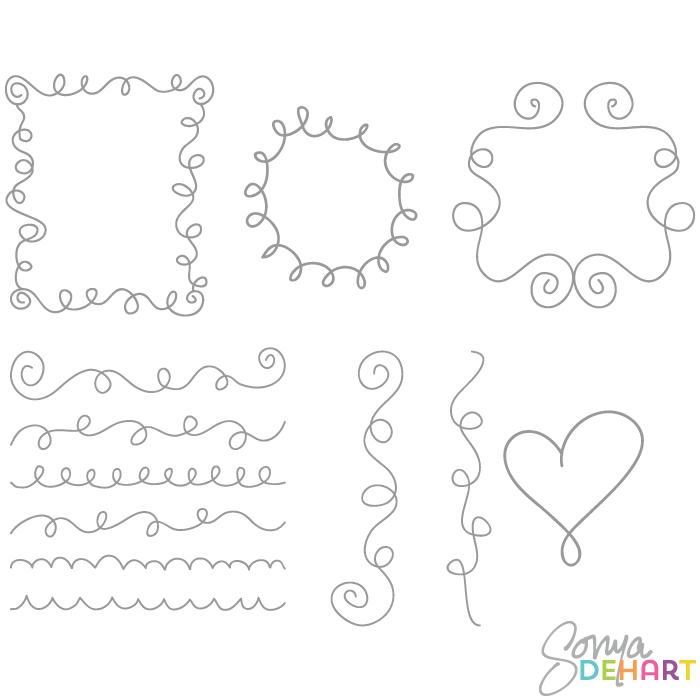 Doodles Clipart-Doodles clipart-13