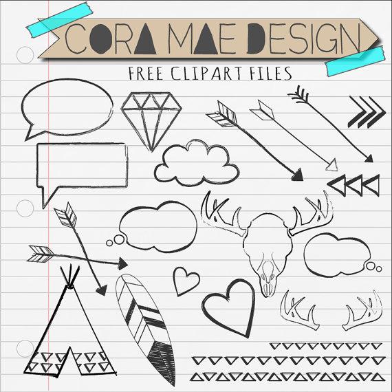 Doodles Clip Art-Doodles Clip Art-14