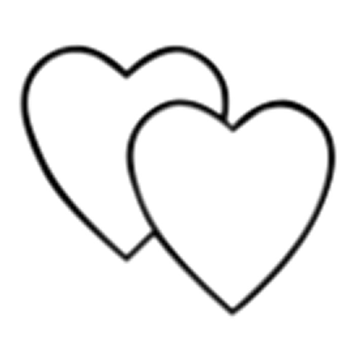 Double Heart Clip Art-Double Heart Clip Art-7