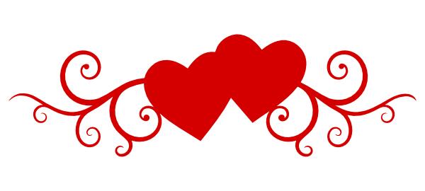 Double Heart Clipart Images .-Double Heart Clipart Images .-9