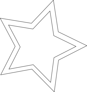 Double Star Clipart #1