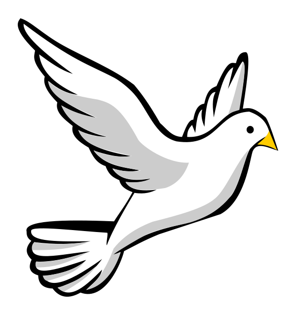 Dove And Cross Clipart-dove and cross clipart-2