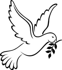 Dove Clip Art - Clip Art Dove