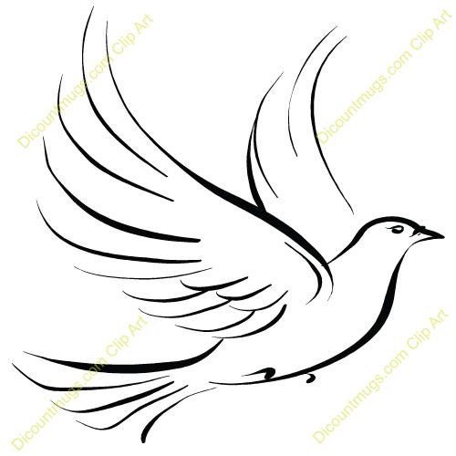 Dove Clip Art Free Vector Download-Dove Clip Art Free Vector Download-8