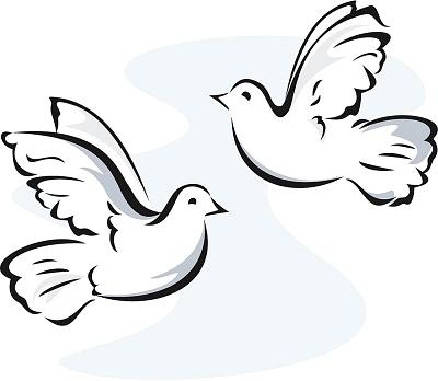 Dove Clipart Art Dove Graphic Dove Image-Dove clipart art dove graphic dove image 4 clipartcow-6