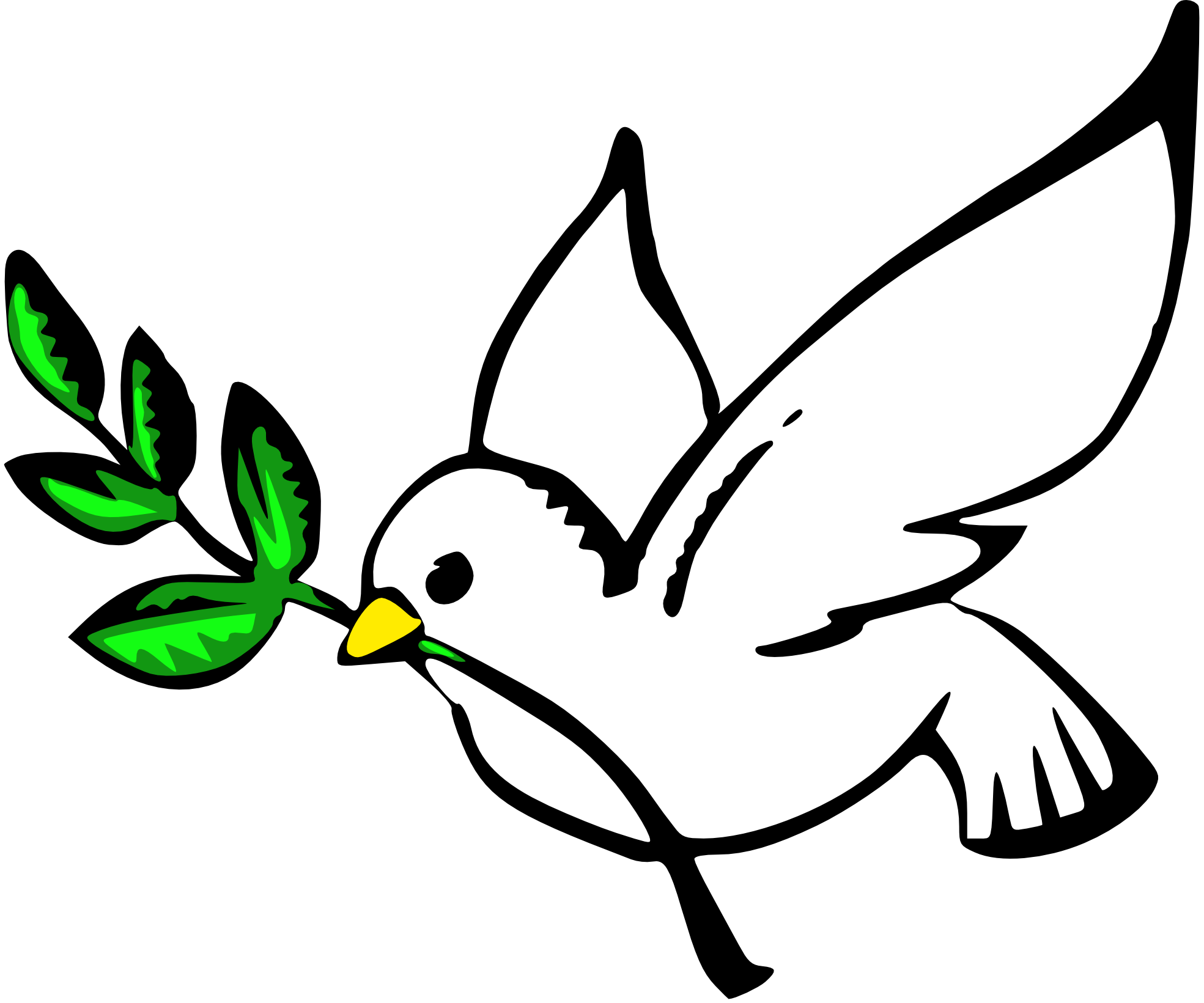 Dove Clipart-Dove Clipart-10
