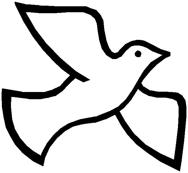 Dove Drawings Colourin - Clip - Prayer Hands Clipart