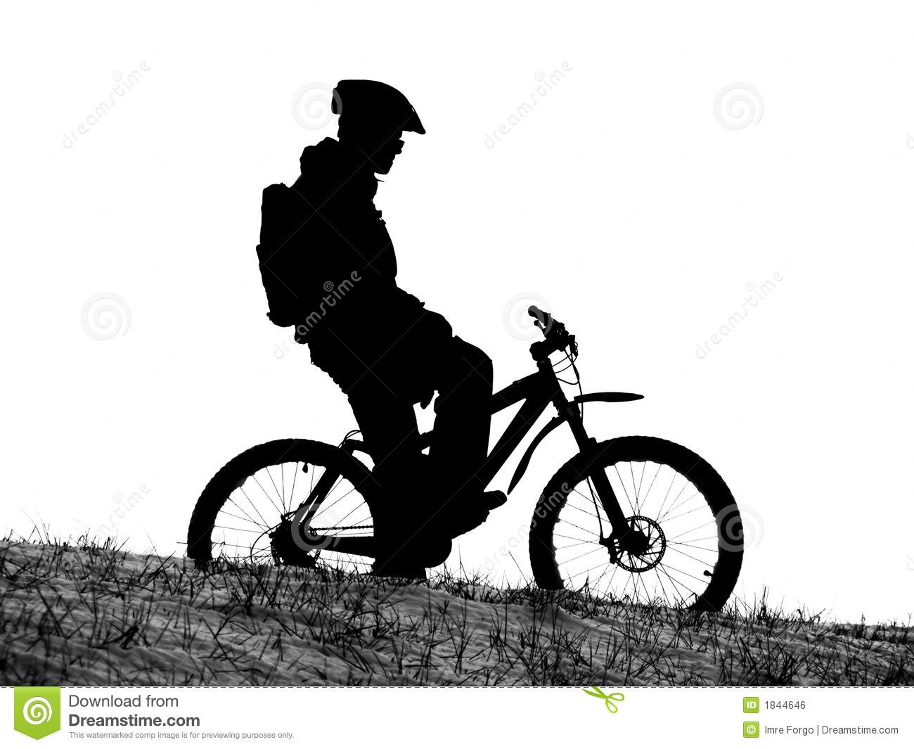 downhill mountain bike .