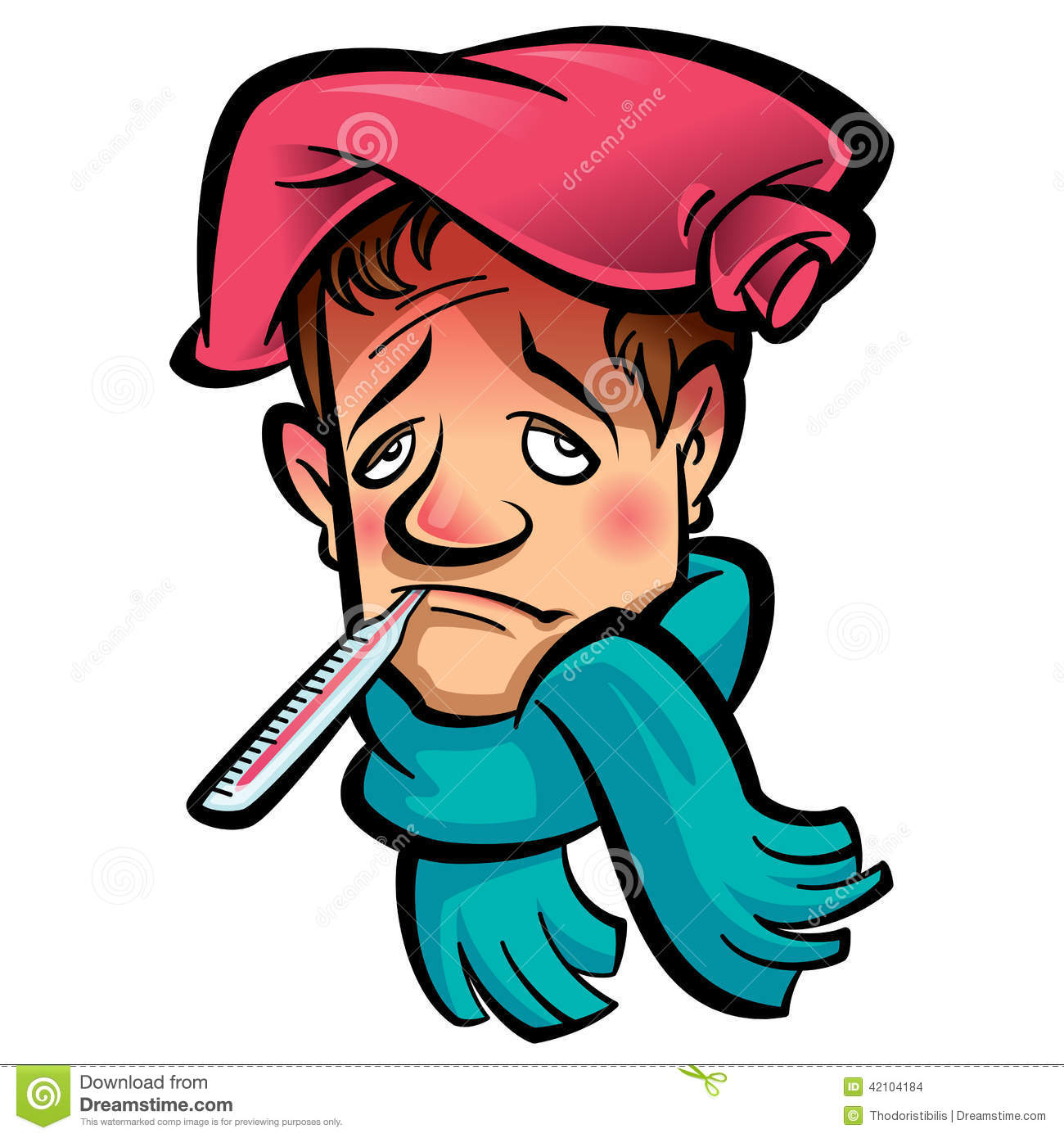 Download Adult Sick Person Clipart