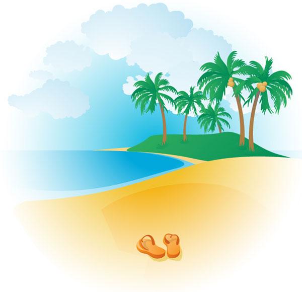 Download Beach Clipart | Free Vector Zon-Download beach clipart | Free Vector Zone-14