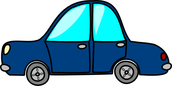 Download Blue Car Clip Art Vector Online Royalty Free Public