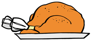 Download Cooking Turkey Dinner Clipart