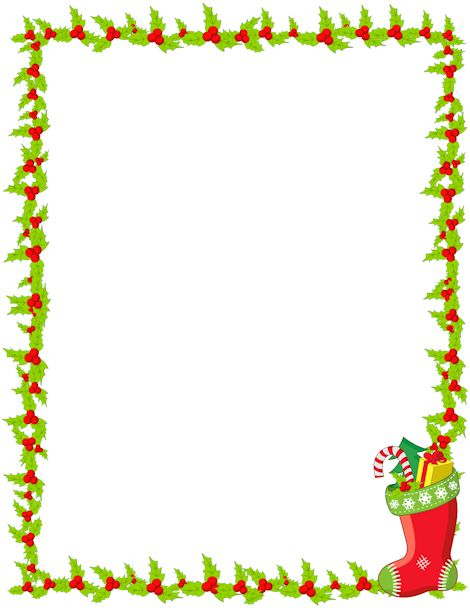 Download free page borders and clip art -Download free page borders and clip art from our collection of hundreds of borders including themes like animals, holidays, school, sports, and much more.-12
